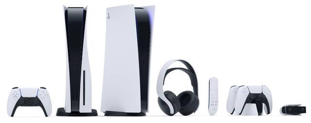 Игровые устройства из серии PlayStation 5