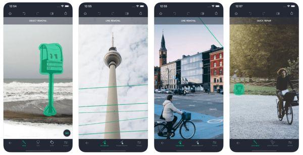 Платное приложение для редактирования фотографий TouchRetouch