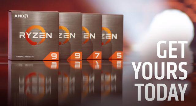 Презентация новых процессоров AMD Ryzen 5000