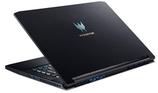 Внешний вид корпуса игрового ноутбука Acer Predator Triton 500