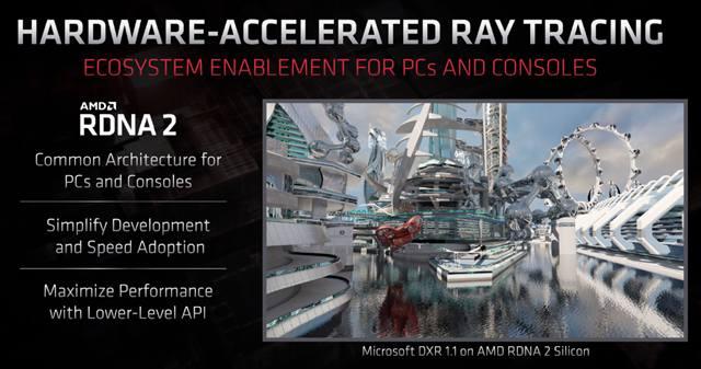 Презентация возможностей AMD RDNA 2