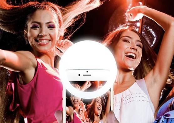 Светодиодное кольцо подсветки для смартфона