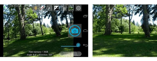 Open Camera отличается простым интерфейсом, но основные функции доступны в настройках приложения