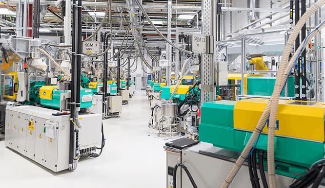 Роботизированный завод Bosch по производству автомобильных комплектующих