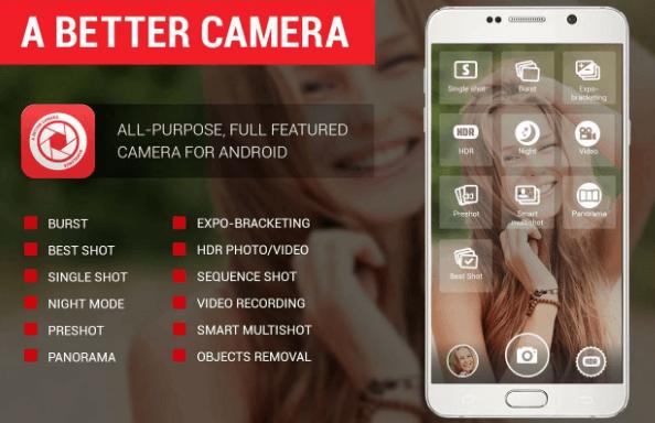A Better Camera обладает аппаратным DRO, которые в состоянии значительно улучшить фотографии, снятые в сильном свете