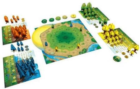 Настольная игра «Фотосинтез» с лесным мотивом