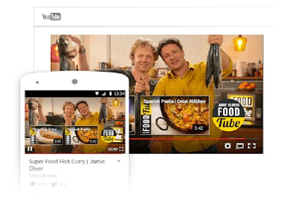 Пример конечной заставки видео на канале YouTube