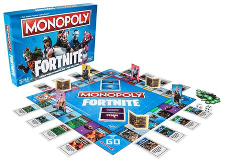Настольная игра «Monopoly Fortnite» по мотивам Fortnite Battle Royale от Epic Games