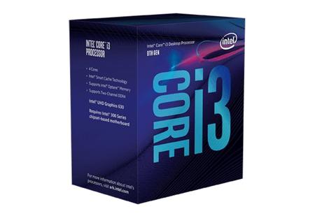 Процессор Intel Core i3-8100 уже с четырьмя ядрами
