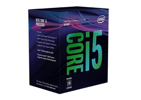 Процессор Intel Core i5-8400 уже с шестью ядрами