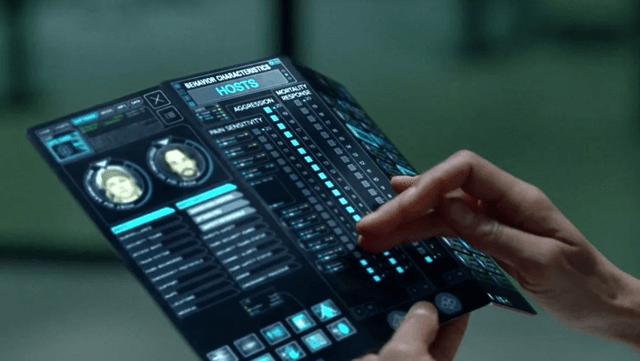 Раскладной телефон-планшет из мира сериала Westworld