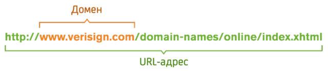 Разница между доменом и URL-адресом