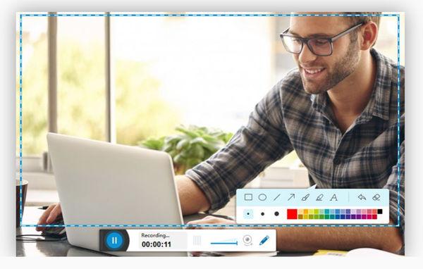 AceThinker – веб-программа для записи экрана ноутбука