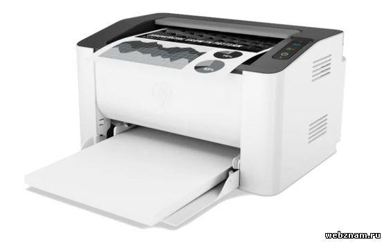 Компактный лазерный принтер HP Laser 107w