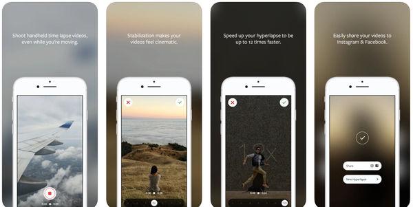 Hyperlapse – профессиональное приложение от Instagram