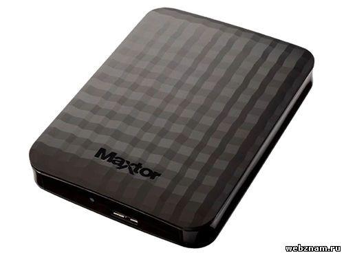 Внешний HDD Maxtor M3 Portable