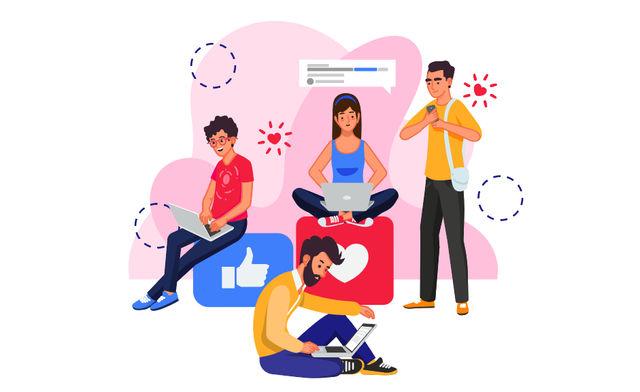 Блогеры готовят визуальный контент для публикации в социальных сетях