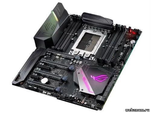 Материнская плата ASUS ROG Zenith II Extreme Alpha – для процессоров Threadripper