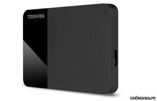 Внешний HDD Toshiba Canvio Ready