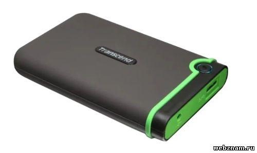 Внешний HDD Transcend StoreJet 25M3