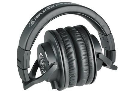 Audio-Technica ATH-M40X – для прослушивания электронной и гитарной музыки