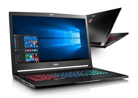 MSI GS73VR – мощный ноутбук с большим экраном