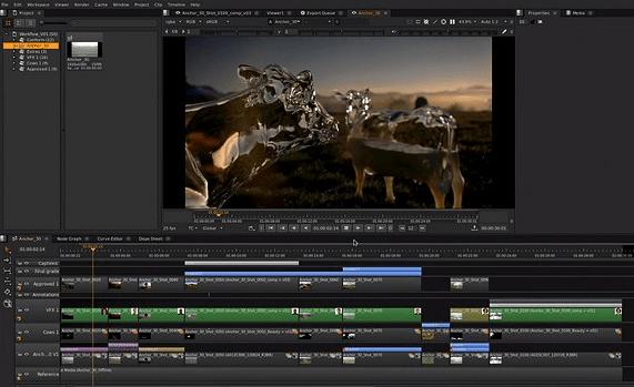 Nuke Non-Commercial 11 – бесплатная версия профессионального редактора видео