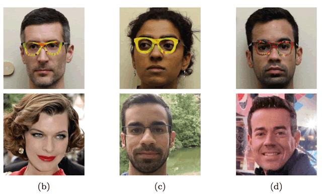 Простые очки сбивают с толку системы распознавания лиц