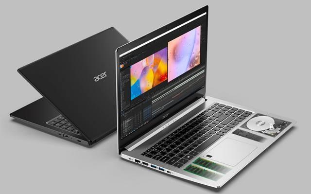 Дизайн корпуса ноутбуков серии Acer Aspire 5