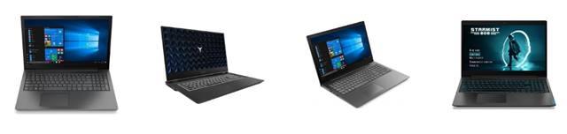 Вид ноутбуков Lenovo IdeaPad 5 предлагаемых в магазинах