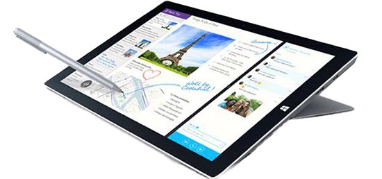 В серии Surface от Microsoft используются тела и рамки из магниевого сплава