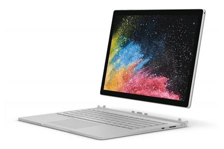 Microsoft Surface Book 2 – конвертируемый ноутбук с отсоединяемой клавиатурой