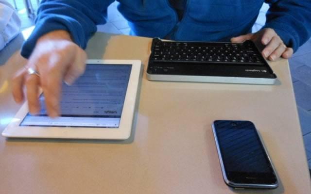 Активное использование мобильных устройств в повседневной работе