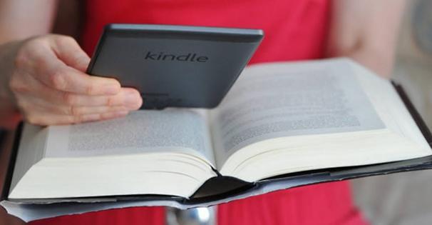 Сравнение легкого ebook и огромного бумажного тома