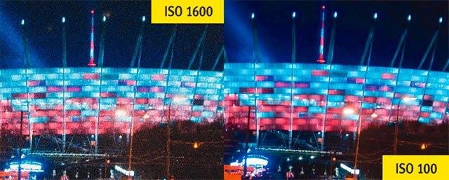 Фотография со смартфона – различные параметры чувствительности ISO