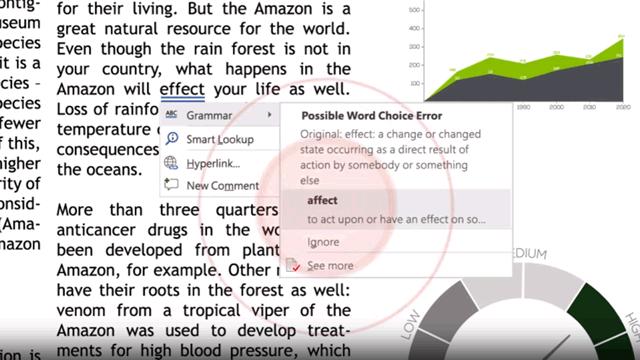 Искусственный интеллект Researcher даёт подсказку пользователю Word