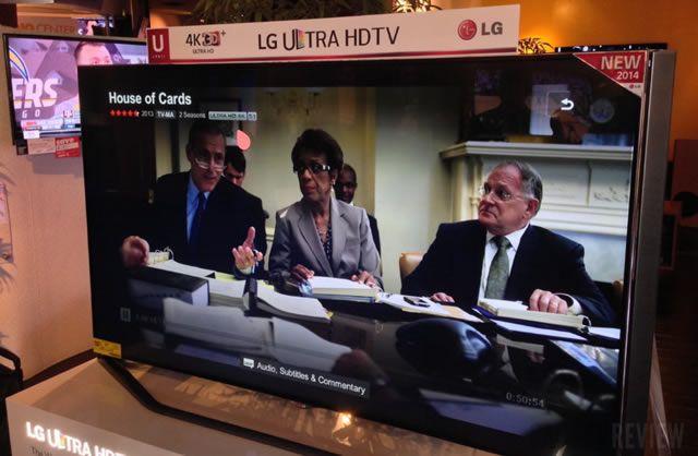 Телевизоры LG Ultra HDTV 4K идеально подходят для просмотра Netflix