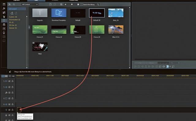 Перенос эскиза на дорожку видеоролика