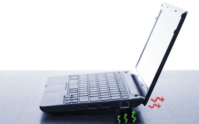 Правильный процесс охлаждения ноутбука