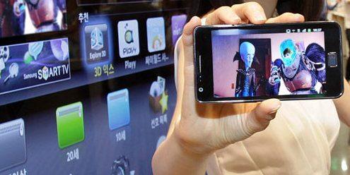 Приложение Smart View для смартфонов Samsung реализует концепцию мобильного телевидения