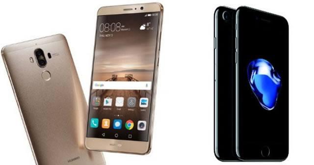 Huawei Mate 9– пример смартфона с двумя задними фотокамерами