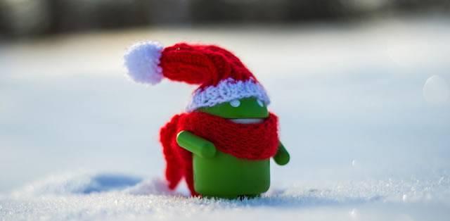 Новогодний Android подарок