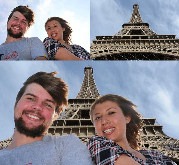 Простой фотомонтаж в редакторе GIMP