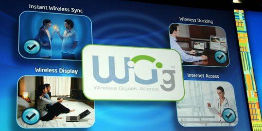 Новый стандарт высокоскоростной сети WiGig