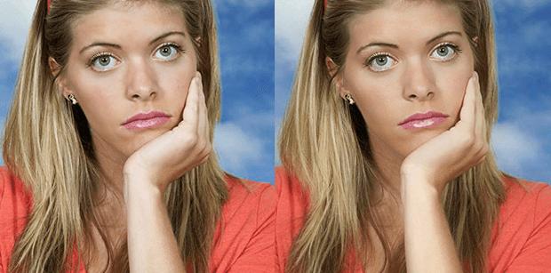 Улучшаем цвет кожи лица на фотографии