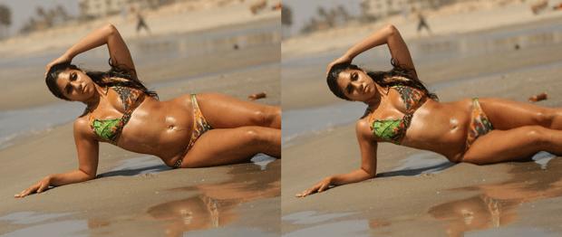 Коррекция формы тела на фотографии