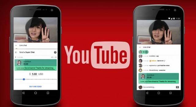 Выделение сообщений в чате с помощью функции YouTube Super Chat