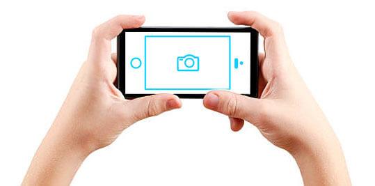 как правильно держать смартфон при съемке фотографий