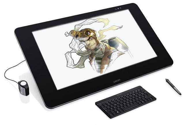 рисунок с графического планшета Wacom