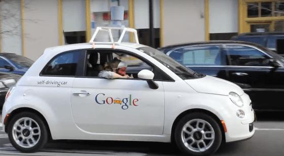 Тестирование автономного автомобиля на дорогах города